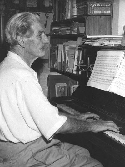 Albert Schweitzer piano