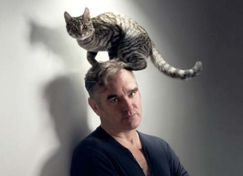 Morrissey and kitty