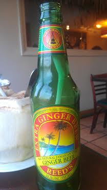 Dhat Island ginger beer and young coconut