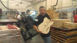 Fender factory tour
